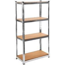 Étagère 320 kg charge lourde metallique de rangement objets atelier 160x81x40,5