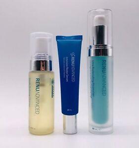 ASEA RENU Advanced Skincare Set Cleanser Serum Moisturiser Anti-aging Cell Tech
