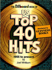 THE BILLBOARD BOOK OF US TOP 40 POP CHART HITS 1955 TO 1982 BY JOEL WHITBURN