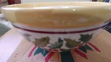 Longaberger Pottery American Holly Large Mixing Bowl 11 RD NIB