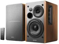 R1280T 2.0 Bookshelf Multimedia Speaker System, Maple - EDIFIER