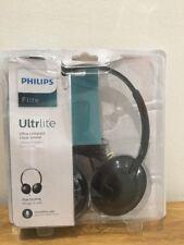 Philips Flite Ultrlite ultra compact flat folding headphones with mic handsfree