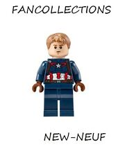 LEGO Minifigure-Captain America - Detailed Suit , sh184 NEUF