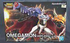 Figure-rise Standard Omegamon AMPLIFIED Model Kit Digimon Adventure BANDAI NEW**