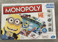 Hasbro Dispicable Me Minions Monopoly Complete Family Fun Board Game