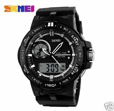 Skmei Sports Watch - Analog-Digital - Man's Wrist Watch - Water Resistant Watch