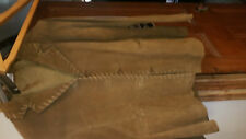 medium Brown Leather Jacket new With Tags Agenda Size 24 ladies or gents