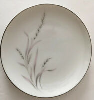 Vintage Royal Song Eternally Yours Salad Plate Fine China 5434 Gray/pink Wheat