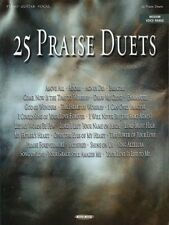 """25 Praise Duets"" Music Book-Piano/Vocal/Guitar-B rand New On Sale Songbook-Rare!"
