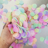 10/20/50g 2.5cm Multi-Coloured Tissue Paper Confetti Wedding Party Supply Decor