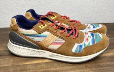 Polo Ralph Lauren 100 Series Train Aztec Snuff Suede / Serape Mens Shoes 8.5 D