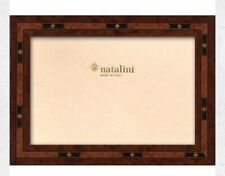 NATALINI ITALIAN Handmade 5x7 Marquetry Picture Frame Luxury Brown Frame E3/20
