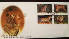 O) 1998 Thailand, Wild Animals -Cats-Felis Viverrina-Panthera Tigres-Panthera P