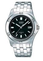 Casio MTP1213A-1AV Men's Standard Stainless Steel Analog Black Dial Date Watch