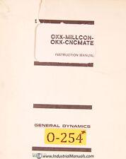 Osaka OKK Millcon III CNCmate II, Operations and Programming Manual 1976