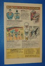 Vintage 1976 Colorforms Batman & Robin - Superman - Aquaman - Wonder Woman ad