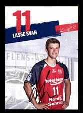 Lasse Svan Autogrammkarte SG Flensburg Handewitt 2013-14 Original+A 164327