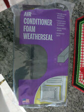 """M-D  AIR CONDITIONER FOAM WEATHERSEAL.  1 PACKAGE 1-1/4'X1-1/4""""X42""""  Large size"""