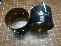 1 pcs 100.8mm 8ohm for EV EVX-180B woofer speaker voice coil Flat aluminum wire