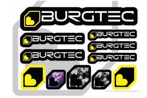 Burgtec Sticker Sheet A5