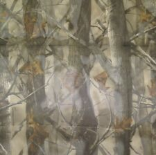 """TRUE TIMBER XD3 SHEER DUCK BLIND CURTAIN CAMO POLYESTER FABRIC BY YARD 57""""W"""