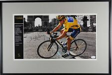 Lance Armstrong JSA Autograph Signed Photo Framed