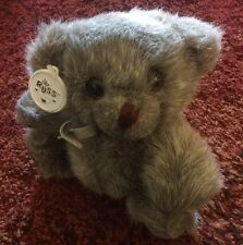 """Old Russ Gray Bear Named Silver 7"""""""