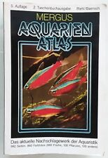 Mergus Aquarien Atlas 5. Auflage Riehl/Baensch 992 Seiten, 860 Farbfotos Fische