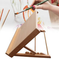 A2 Wood Easel Artist Display Stand Art Table Adjustable Drawing Painting Board