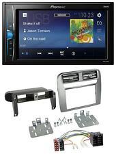 Pioneer 2DIN MP3 USB AUX Autoradio für Fiat Grande Punto 05-09 anthrazit metalli