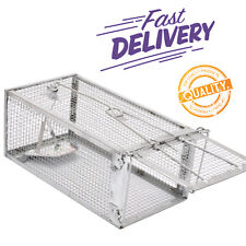 Animal Humane Live Cage Trap Rat Mouse Mice Hamster Rodents Trigger Large Sturdy