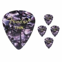 Fender 351 Premium Thin Celulloid Guitar Picks - Purple  Moto - 5 Picks