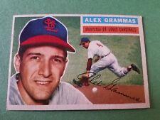 1956 Topps Alex Grammas #37 Baseball Card