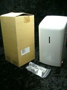 Jofel 2 Roll Toilet Paper Dispenser Dual White Double Loo Rolls Holder AF50001