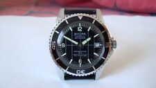 RARE !! Vintage SICURA SUBMARINE men's watch, Old Swiss made mechanical DIVER !