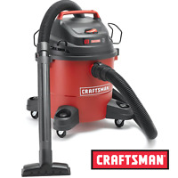 Craftsman 6 Gallon 3-HP Wet / Dry Vac Work Shop Vacuum Cleaner NEW FREE SHIPPING