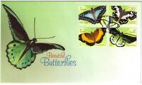 "2016 FDC. Australia. Beautiful Butterflies. Butterfly PictFDI ""WOODLANDS"""