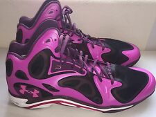 Under Armour Micro G Anatomix Spawn Mens Basketball Shoes Pink Size 18