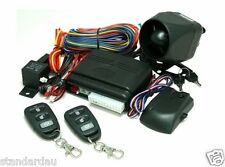 Mongoose M33 Fully featured Car Alarm +engine immobiliser+2 remotes keyles entry