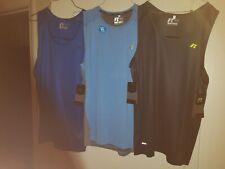Brand New Lot Of 3 Russell Training Fit Dri-Power 360 Sleeveless Shirts -