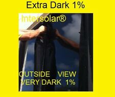 "Window film Tint 2 ply  high quality 1% dark  Intersolar® 60"" x 200 FT"