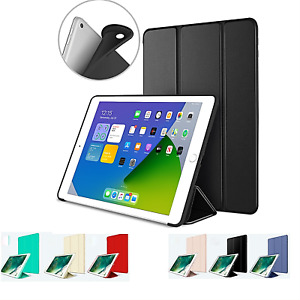 iPad Case 6th Generation 9.7 Slim Magnetic Silicone Smart Cover Stand For Apple