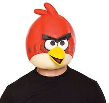 New Angry Birds Red Bird Mask Costume (Latex)