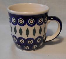 TOP Kaffeetasse Unikat Tasse / Becher 350 ml aus Bunzlauer Keramik eu1036