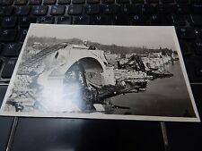 Cuise-la-Motte en 1944 – Destruction du pont de fil, miné par les allemands