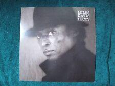 Original Vintage 1984 Promo Poster Flat Miles Davis Decoy Nmint