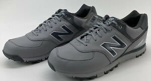 New Balance 574 Golf Shoes Mens Size 15 D Spikeless NBG574 Gray Silver NWD