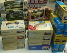 LARGE COLLECTION OF CORGI TRAMS - CHOOSE FROM DROP DOWN MENU - ALL BOXED