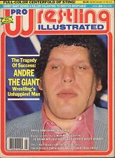 Pro Wrestling Illustrated May 1988 Andre The Giant, Ric Flair 110916DBE