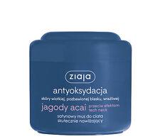 Ziaja jagody acai satynowy mus do ciała skutecznie nawilżający antioxidant